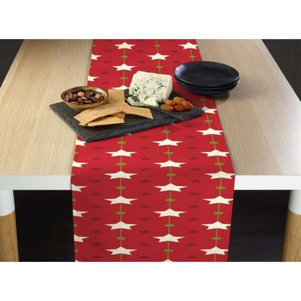 Enloe Christmas Stars Table Runner by The Holiday Aisle