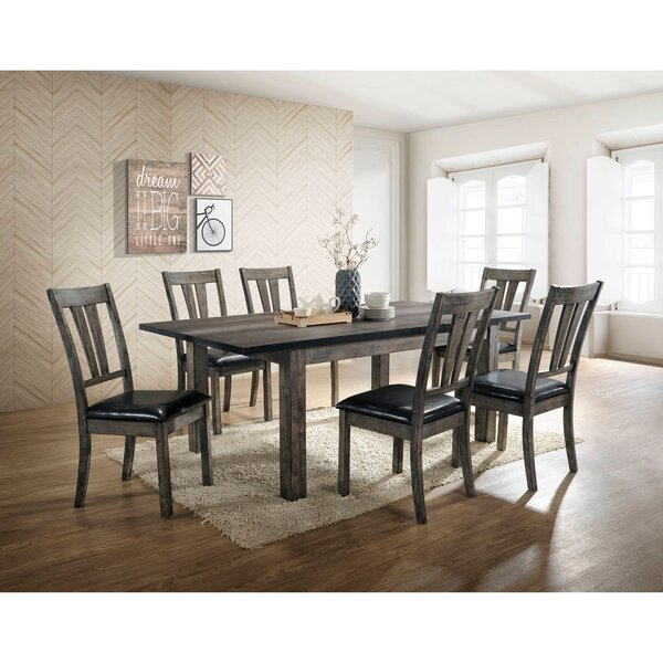 Sanda 7 Piece Dining Set by Union Rustic