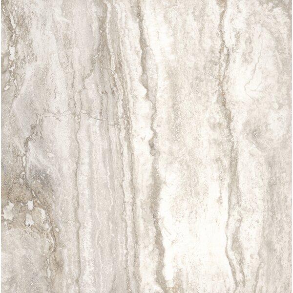Bernini Bianco 18 x 18 Porcelain Field Tile in Cream/Warm gray by MSI