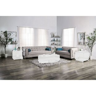 Dorielle 2-pcs Living Room Set by Everly Quinn