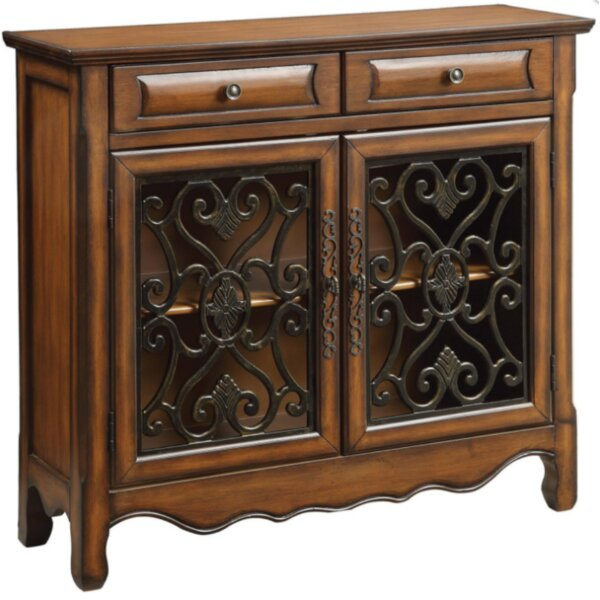 Colville 2 Drawer Accent Cabinet by Bay Isle Home