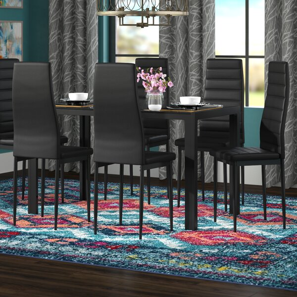 Azaiah 7 Piece Dining Set by Wade Logan Wade Logan