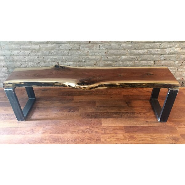 Monford Wood Bench by Union Rustic Union Rustic