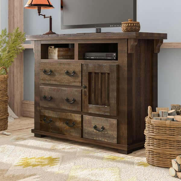 Low Price Buchanan 4 Drawer Media Chest