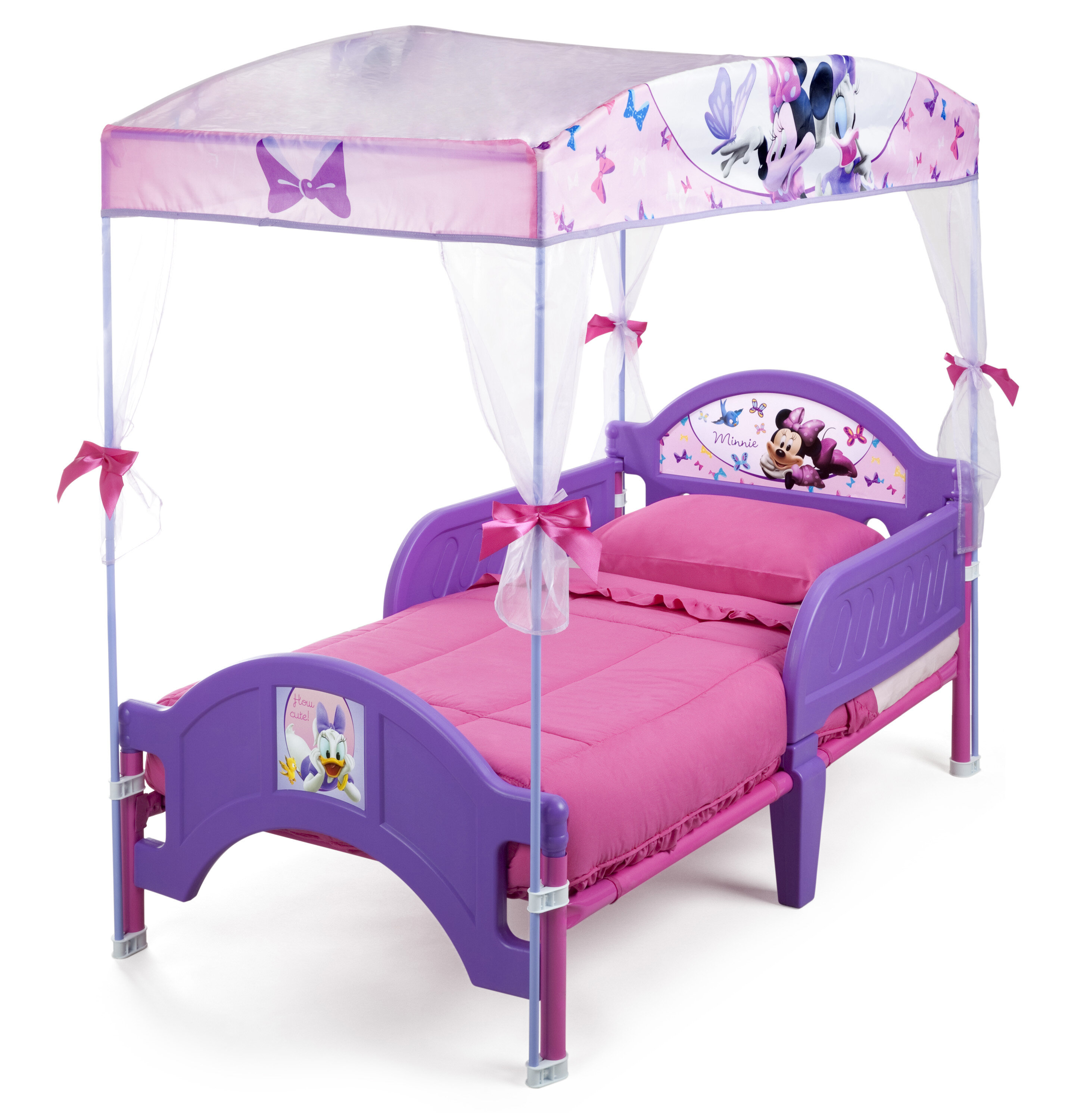 half off 97f94 69809 Disney Minnie Mouse Bow-tique Convertible Toddler Bed