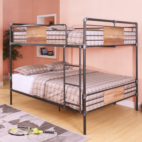 Eloy Queen Over Queen Bunk Bed By Harriet Bee by Harriet Bee Savings