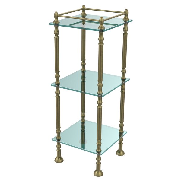 14 W x 38 H Bathroom Shelf by Allied Brass