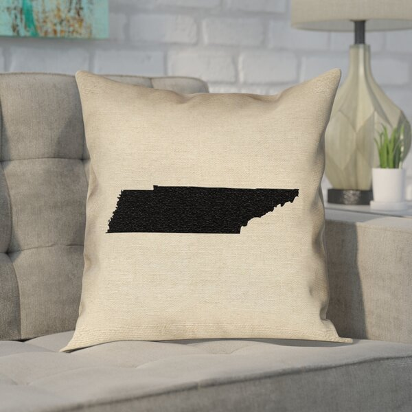 Chaput Tennessee Pillow in , Cotton Twill Double Sided Print/Throw Pillow