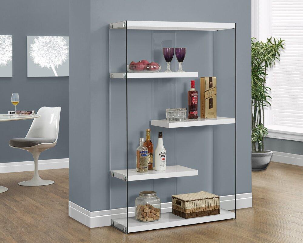 Cantrell Standard Bookcase & Minimalist Bookshelf | Wayfair