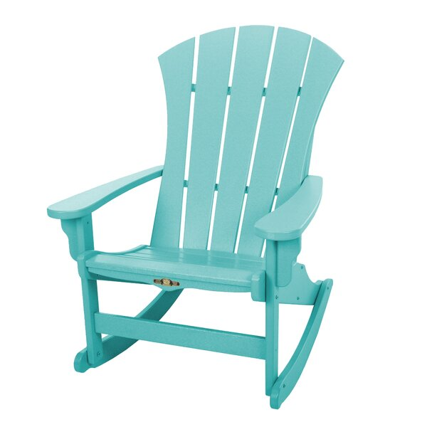 Yeager Wood Adirondack Chair by Rosecliff Heights