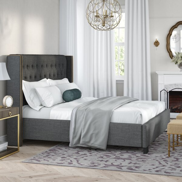 António Upholstered Platform Bed by Willa Arlo Interiors
