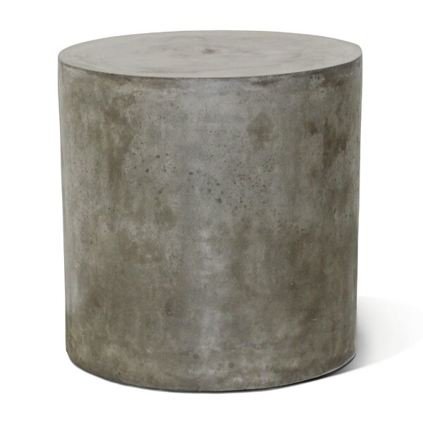Bill Concrete Side Table by Seasonal Living