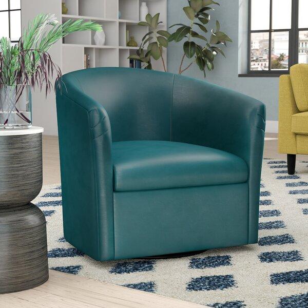 Person Swivel Barrel Chair by Zipcode Design