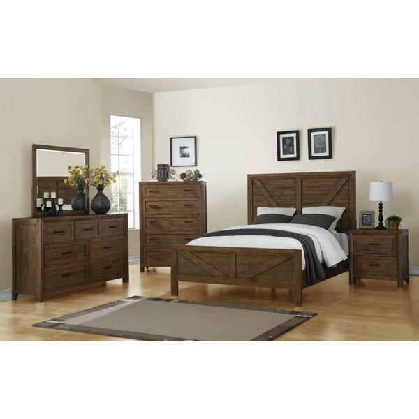 Mccart Carmel Panel Configurable Bedroom Set by Gracie Oaks