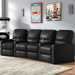 Center Home Theater Curved Row Seating Of 4