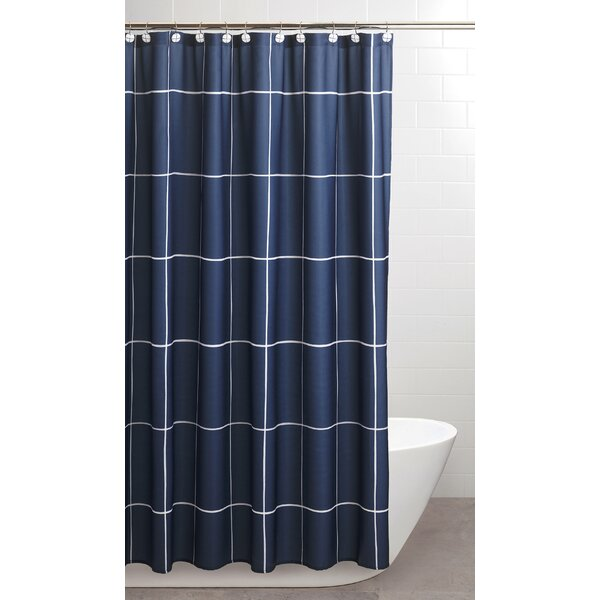 Zebediah Shower Curtain by Ebern Designs