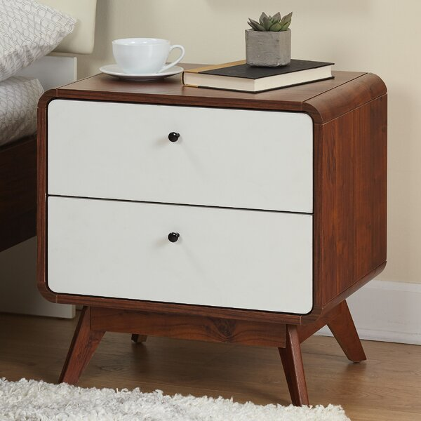 Cody 2 Drawer Nightstand by Corrigan Studio