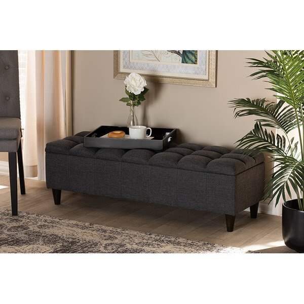 Sedgefield Upholstered Storage Bench By Red Barrel Studio by Red Barrel Studio Great Reviews