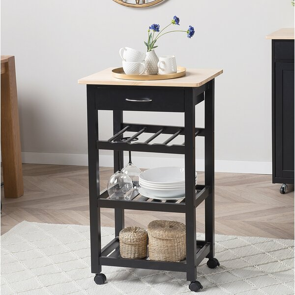 Titus Kitchen Cart by Canora Grey