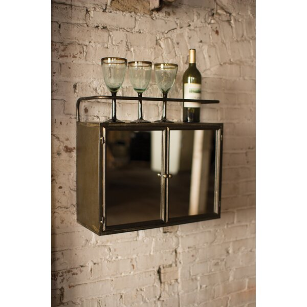 Dykstra Metal 22 W x 19.5 H Wall Mounted Cabinet by Red Barrel Studio