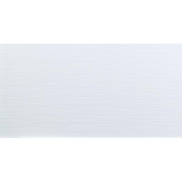 Dymo Stripe 12 x 24 Ceramic Field Tile in White by MSI