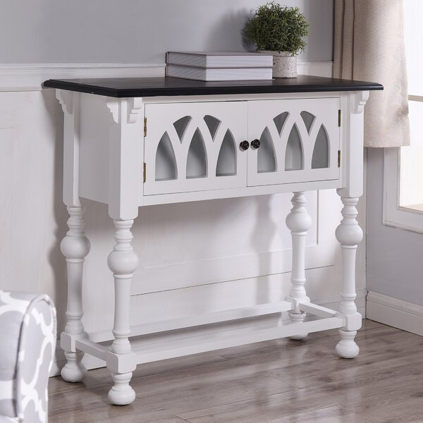 World Menagerie White Console Tables