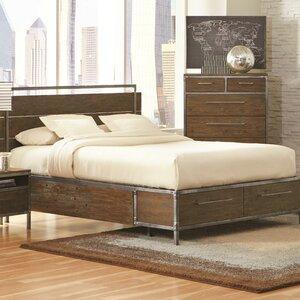 chantelle storage platform bed - Drawer Bed Frame
