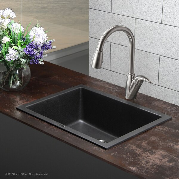 24 L x 18 W Drop-In Kitchen Sink by Kraus
