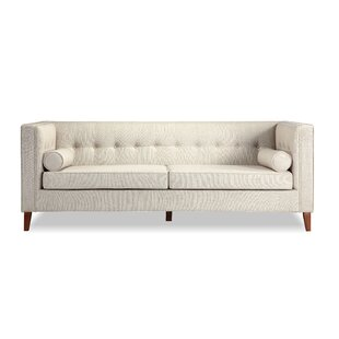 Jefferson Mid Century Modern Chesterfield Sofa