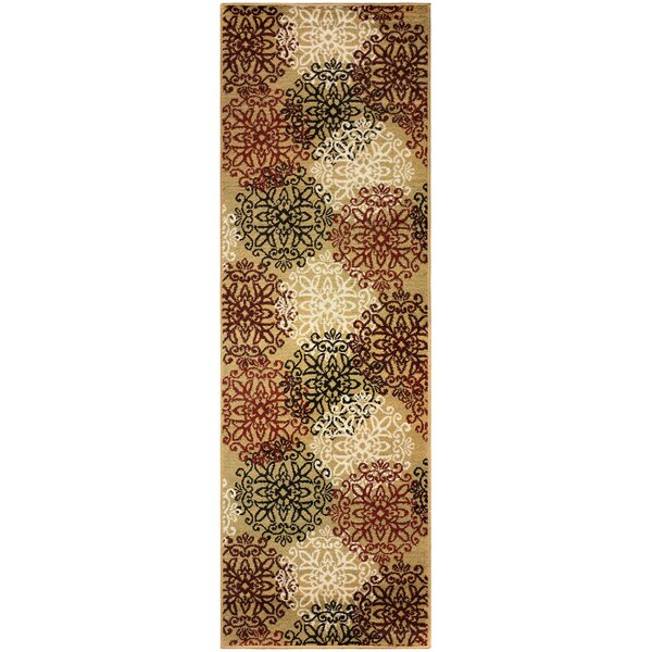 Callicoon Leigh Gold Area Rug by Charlton Home