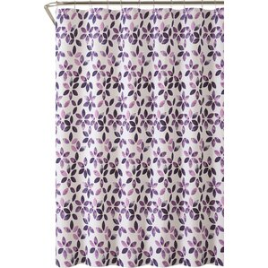 purple and brown shower curtain. Autumn Cotton Shower Curtain Purple Curtains You ll Love  Wayfair