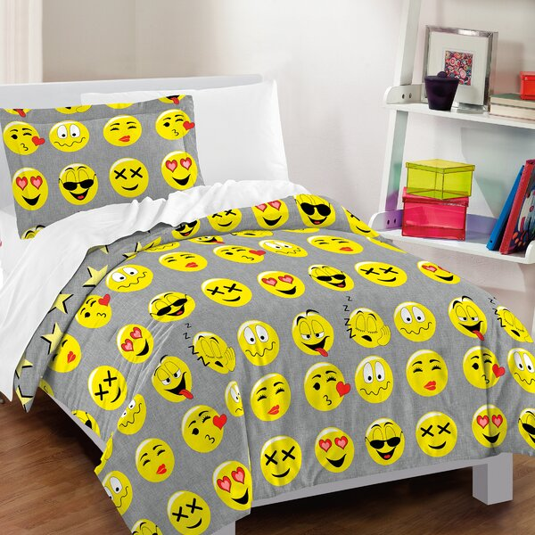 Icons 2 Piece Toddler Bedding Set by East Urban Home