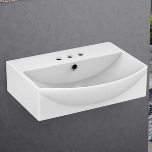 Buying Ceramic Rectangular Vessel Bathroom Sink with Overflow By American Imaginations