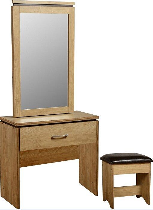 Vivienne 1 Drawer Dressing Table Stool Set