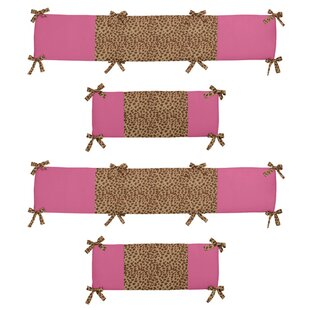 Great choice Cheetah Girl Crib Bumper By Sweet Jojo Designs