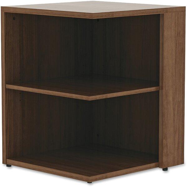 Essentials Corner Bookcase By Lorell