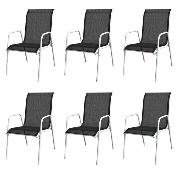 Bahari Stacking Garden Chair (Set of 6) by Ebern Designs
