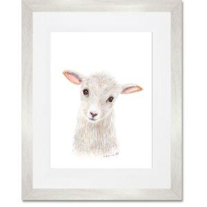 'Lamb' by Brett Blumenthal Framed Painting Print by Oopsy Daisy