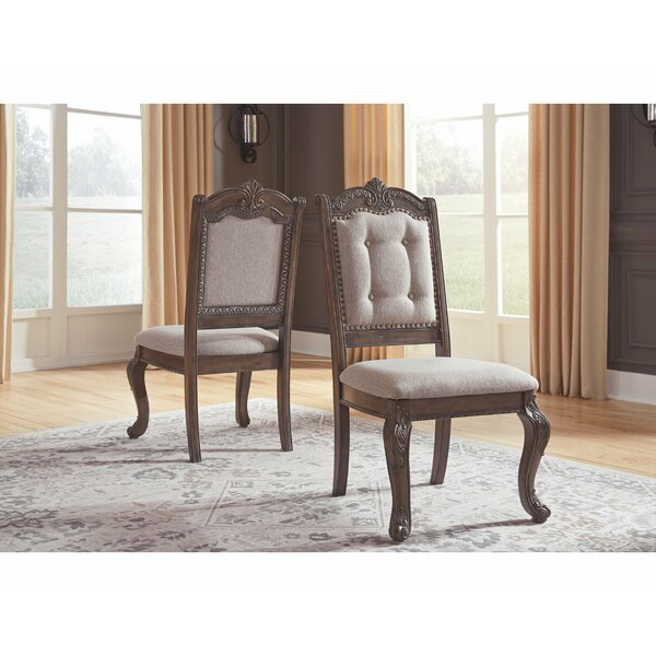 Dripping Springs Upholstered Dining Chair (Set of 2) by Astoria Grand Astoria Grand