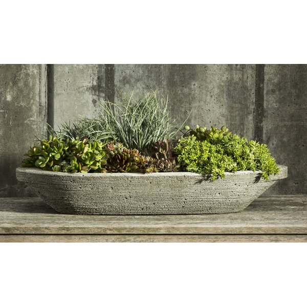 Jacinto Cast Stone Pot Planter by One Allium Way
