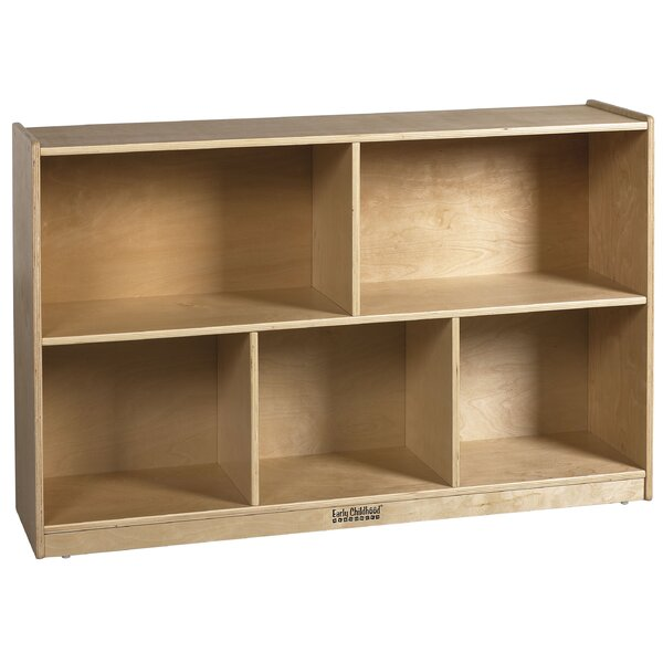 5 Compartment Shelving Unit with Casters by ECR4kids