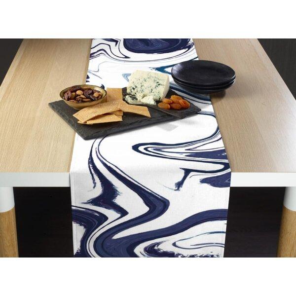 Lorentz Marble Milliken Signature Table Runner by Ivy Bronx