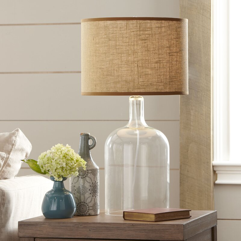 Falmouth Glass Table Lamp