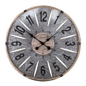 Oversized 36 Metal Wall Clock
