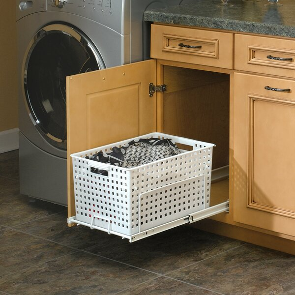 Pullout Hamper and Utility Basket by Rev-A-Shelf