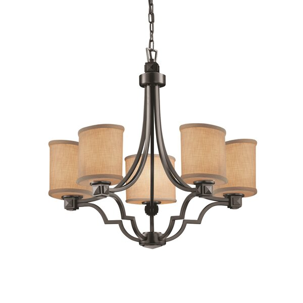 Sav 5 - Light Shaded Empire Chandelier By Red Barrel Studio