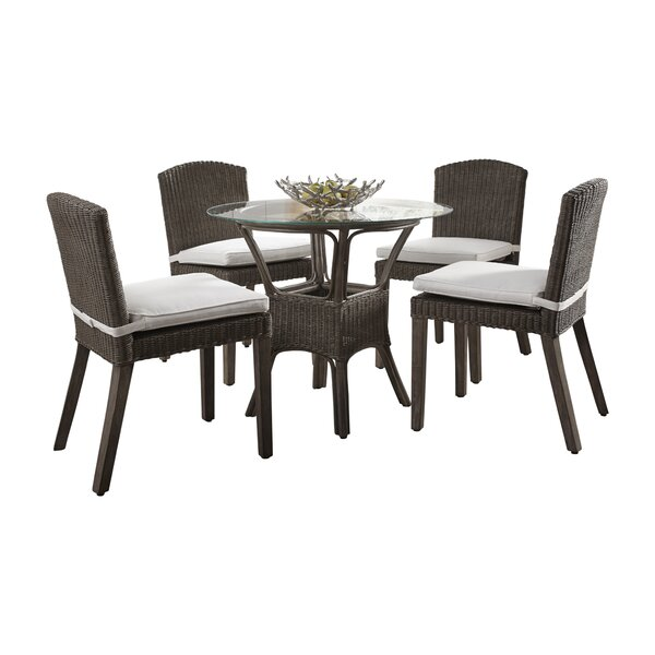 Playa Largo 5 Piece Dining Set by Panama Jack Sunroom