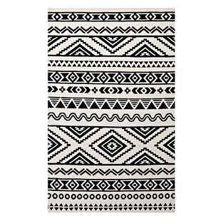 Black And White Tribal Rug Wayfair