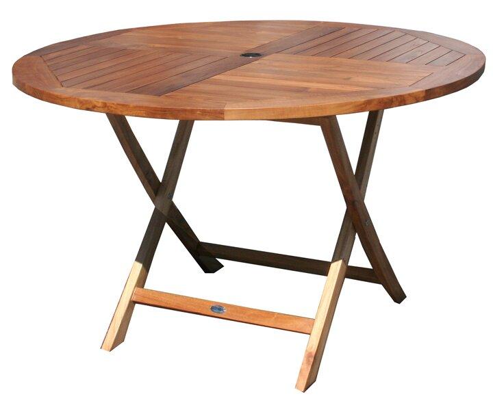 Quinlan Teak Folding Dining Table