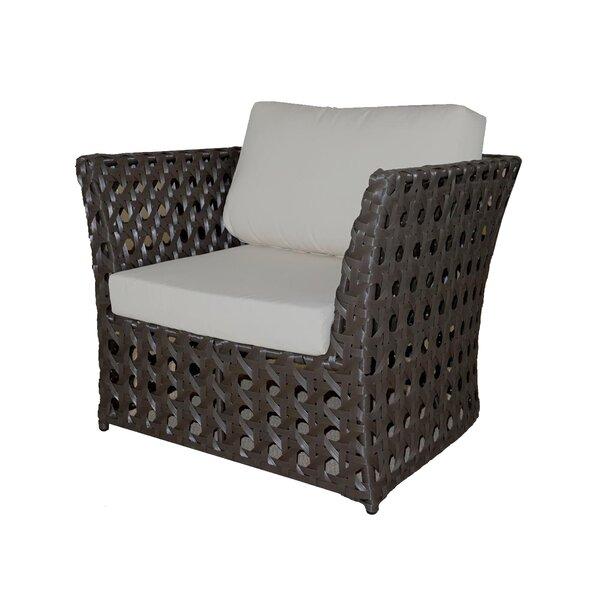 Open Patio Chair with Sunbrella Cushions by Feruci